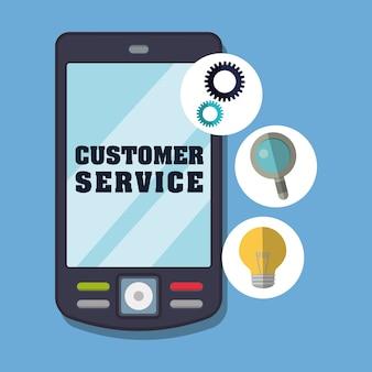 Ikony obsługi klienta