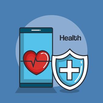 Ikony online medycyny zdrowia