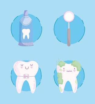 Ikony opieki stomatologicznej