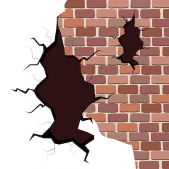 Ikony pękają w ścianie