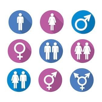 Ikony płci