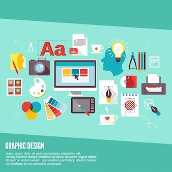 Ikony projektu graficznego