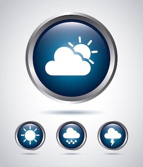 Ikony rodzajów pogody