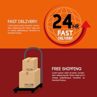 Ikony szybkiej dostawy