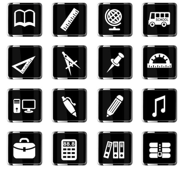 Ikony www do napraw dróg do projektowania interfejsu użytkownika