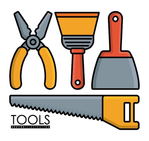 Ikony związane z narzędziami do naprawy