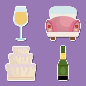 Ikony związane z weselem