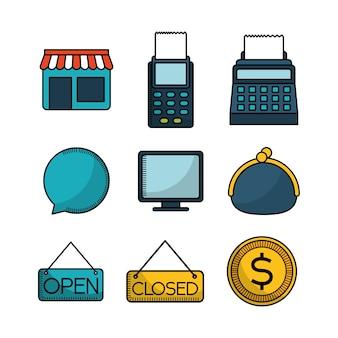 Ikony związane z zakupami