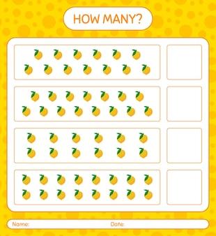 Ile gier z liczeniem z arkuszem jajek dla dzieci w wieku przedszkolnym, arkuszem aktywności dla dzieci, arkuszem do druku