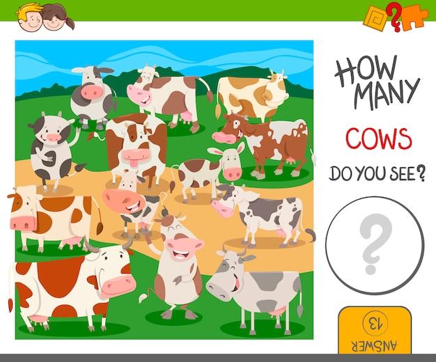 Ile krowy gry