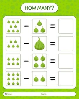 Ile liczy gra indyjska fig. arkusz roboczy dla dzieci w wieku przedszkolnym, arkusz ćwiczeń dla dzieci, arkusz roboczy do druku