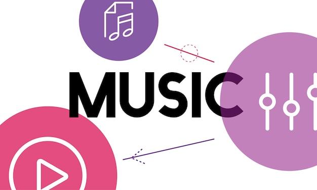 Illustation Of Music Concpet Darmowych Wektorów