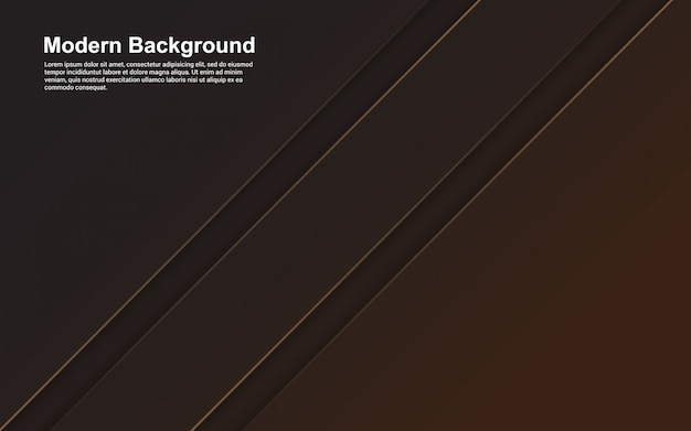 Ilustracja abstrakcyjne tło w kolorze czarnym i brązowym