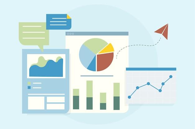 Ilustracja analizy wykresu biznesowego