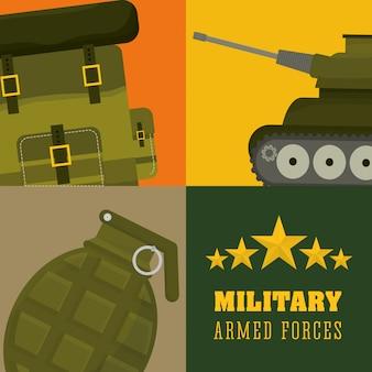 Ilustracja armii projektu
