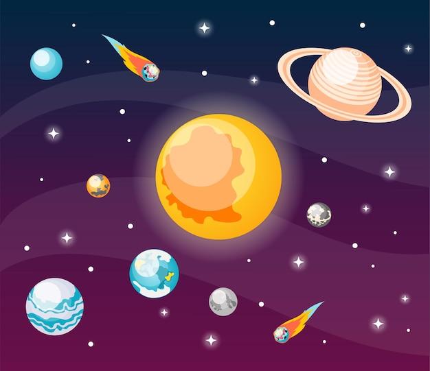 Ilustracja astronomii