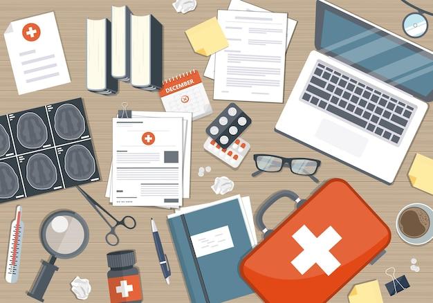 Ilustracja badań medycznych