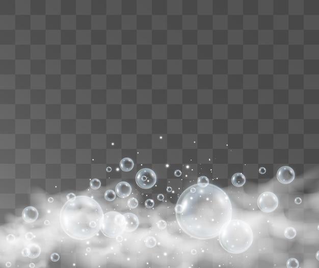 Ilustracja baniek mydlanych powietrza