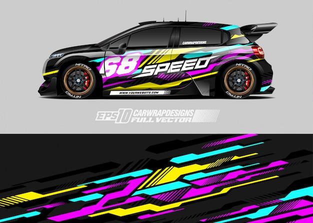 Ilustracja barw samochodów