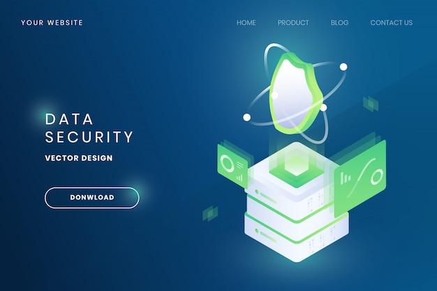 Ilustracja bezpieczeństwa danych