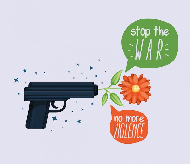 Ilustracja broni praw człowieka