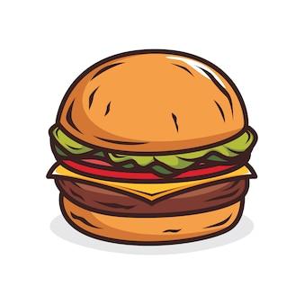 Ilustracja burger