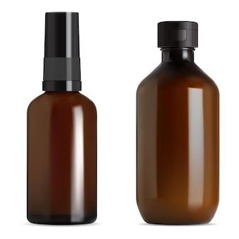 Ilustracja butelka syropu