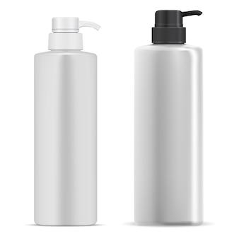 Ilustracja butelki z pompką