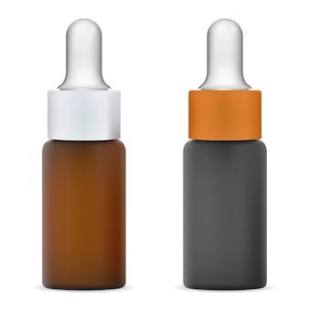Ilustracja butelki z zakraplaczem