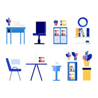 Ilustracja charakter biuro uruchamiania firmy