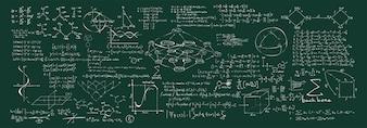 Ilustracja chemicznych formuł