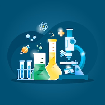 Ilustracja chemii