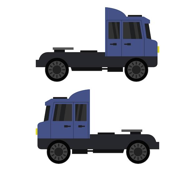 Ilustracja ciężarówek