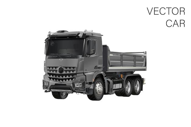 Ilustracja ciężarówki