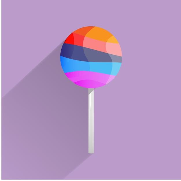 Ilustracja cukierków