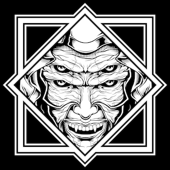 Ilustracja demona