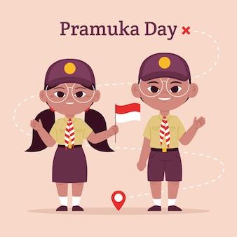Ilustracja dnia pramuki