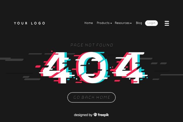 Ilustracja do strony docelowej z pojęciem błędu 404