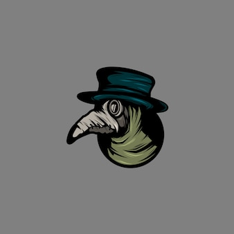 Ilustracja dr plague