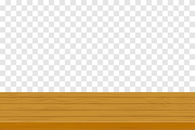 Ilustracja drewniany stół