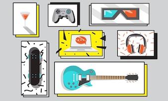 Ilustracja działań hobby