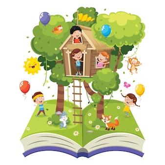 Ilustracja dzieci