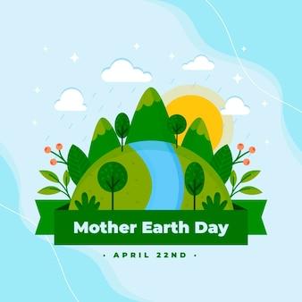 Ilustracja dzień matki ziemi