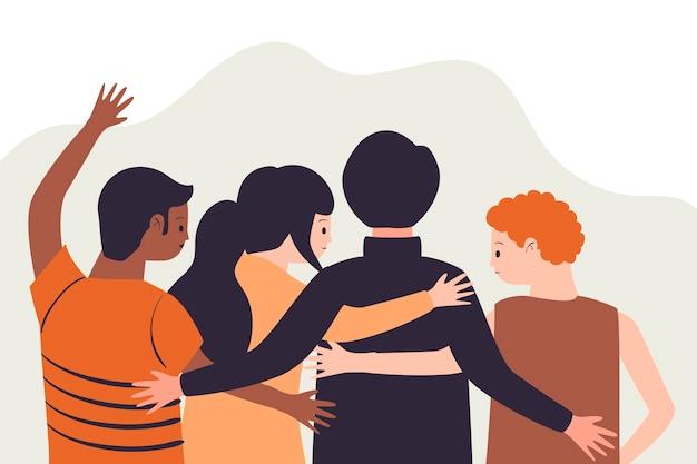 Ilustracja dzień młodzieży