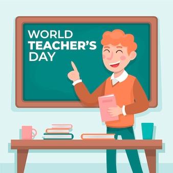 Ilustracja dzień nauczyciela
