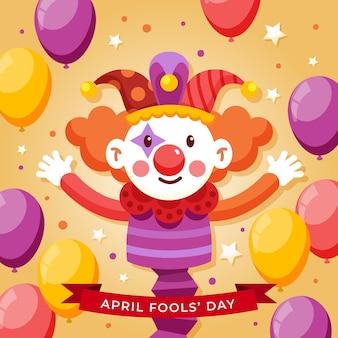 Ilustracja dzień prima aprilis