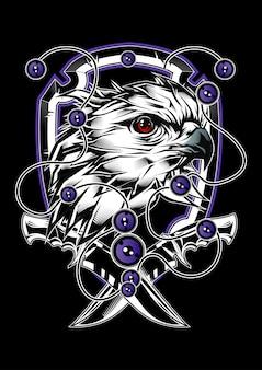 Ilustracja eagle
