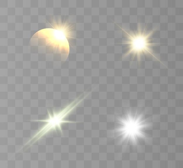 Ilustracja efekt świetlny