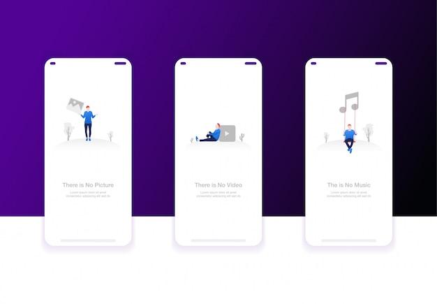 Ilustracja ekranów pokładowych