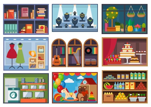 Ilustracja elewacji sklepu